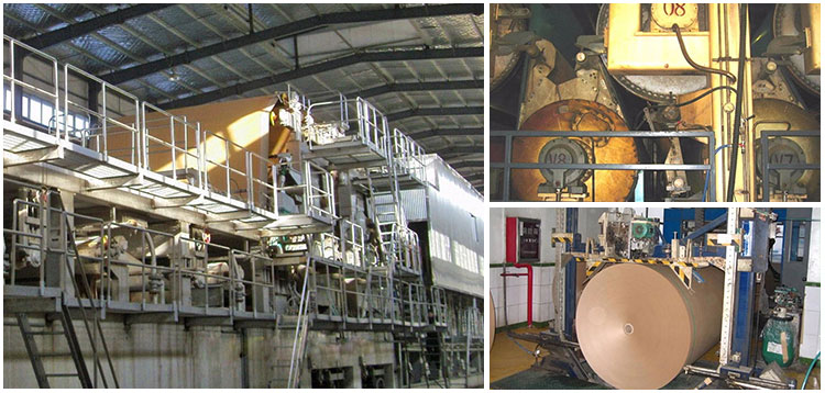 kraft paper making machine price